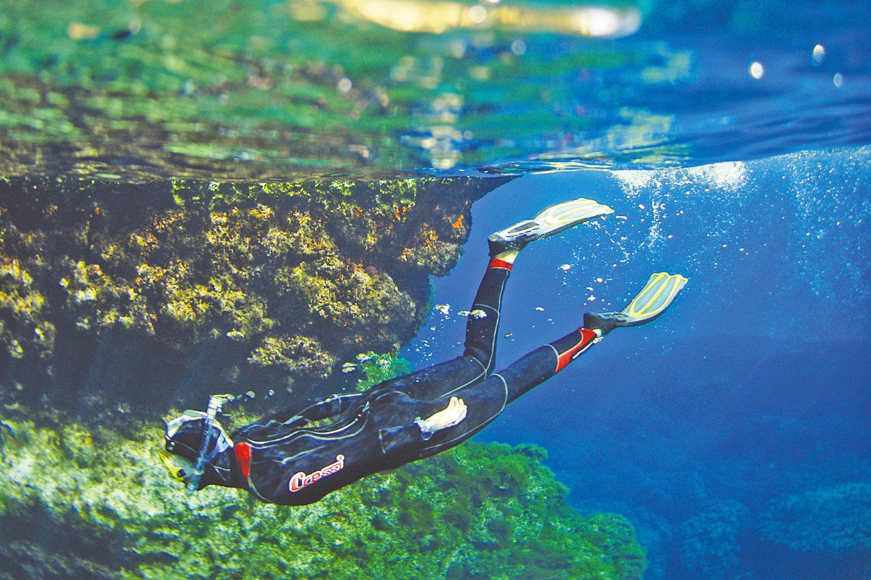 snorkelling in malta