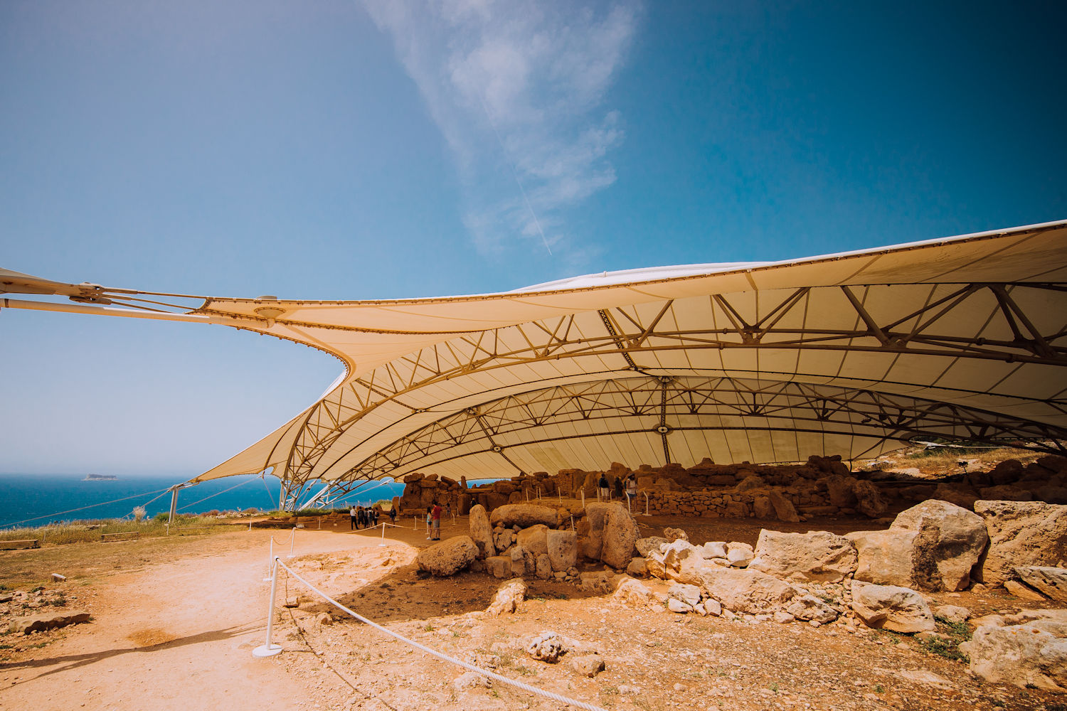 Megalithic temple Mnajdra in Zurrieq