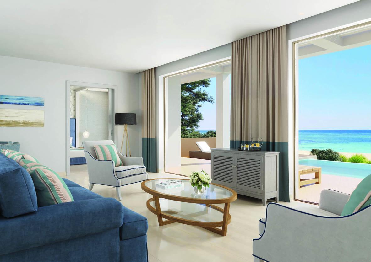 Deluxe One Bedroom Bungalow Suite at Ikos Dassia, Corfu