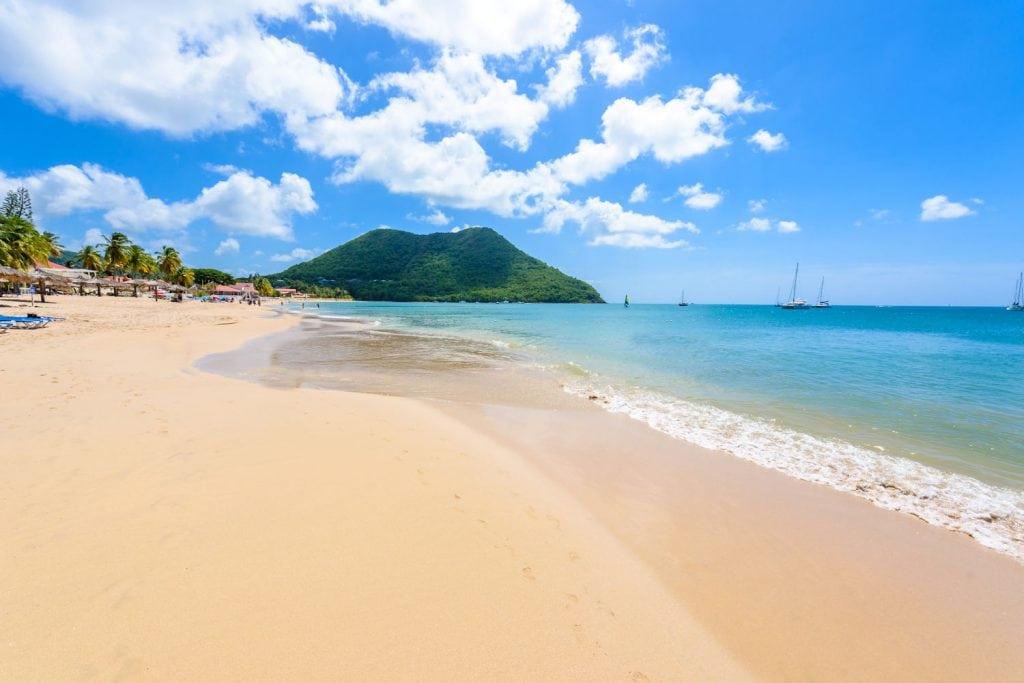 reduit beach, st lucia