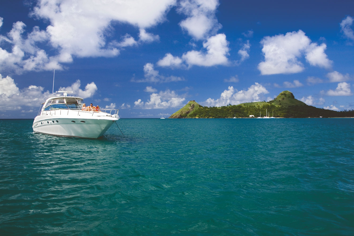 sailing in st lucia, boat trip