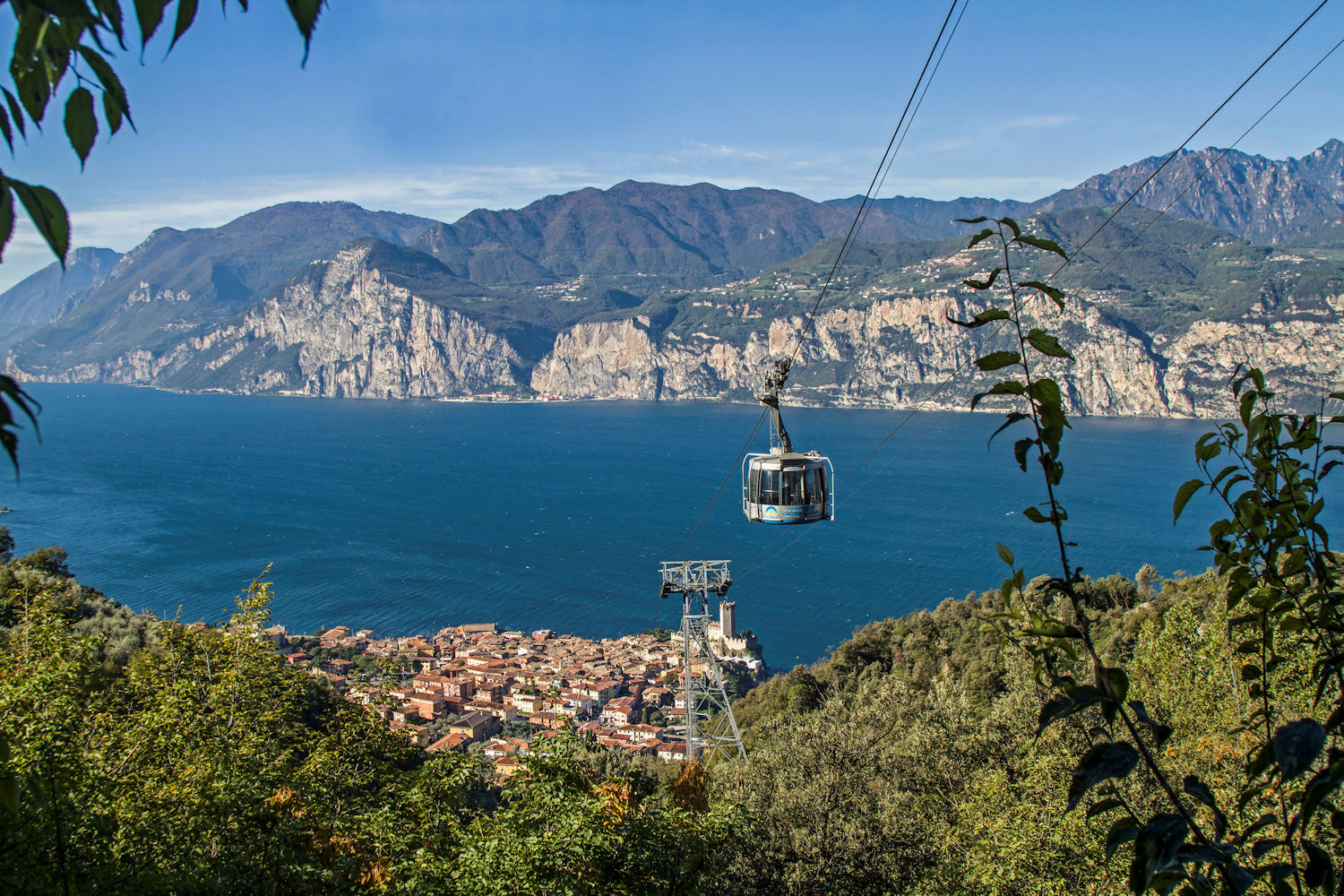 cable car to monte baldo from Malcesine