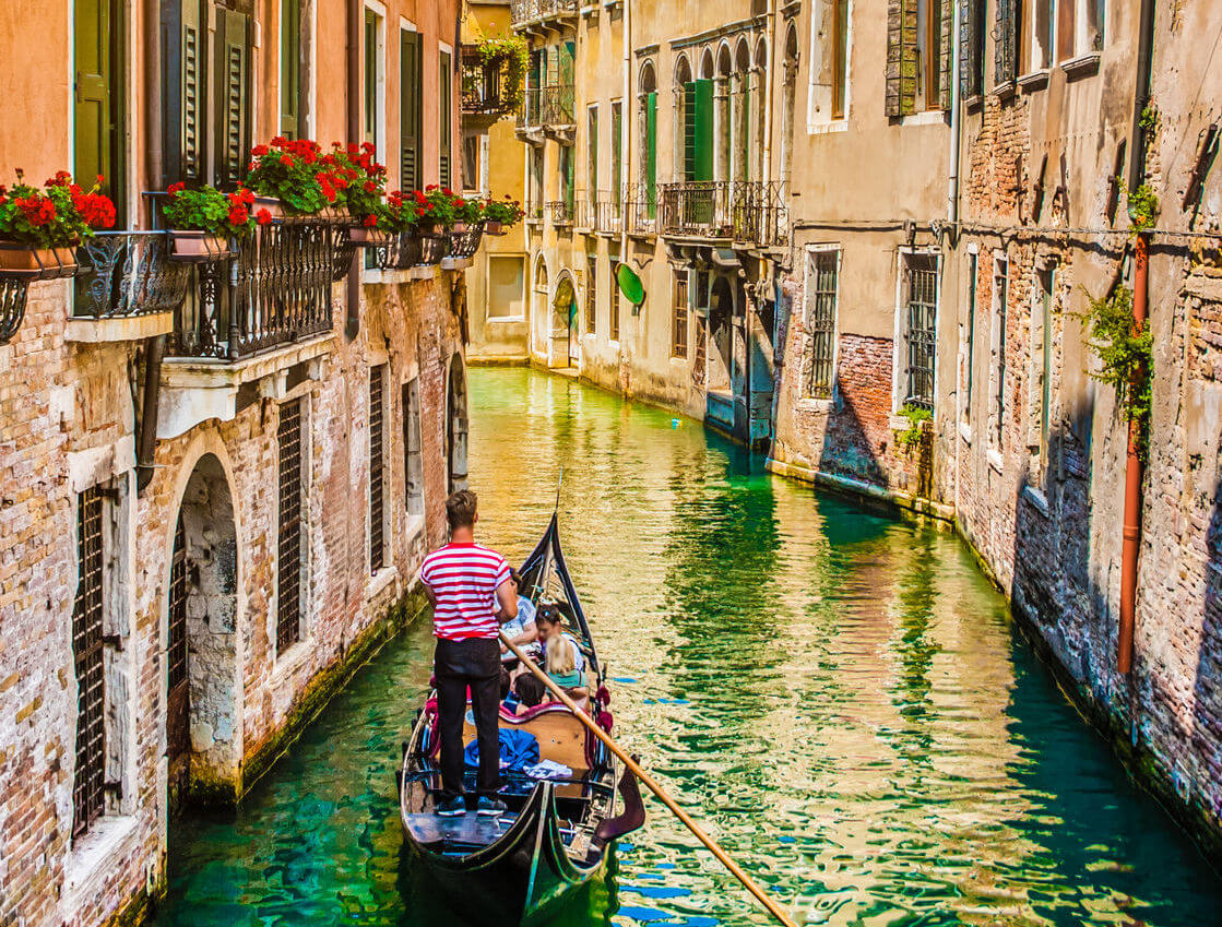 travel experiences, venice by gondola