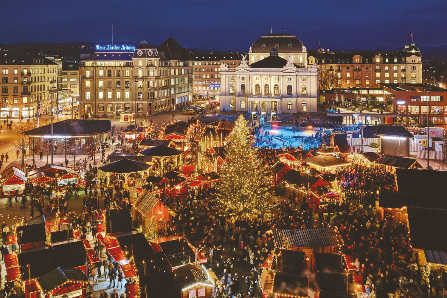 top travel experiences, zurch christmas market