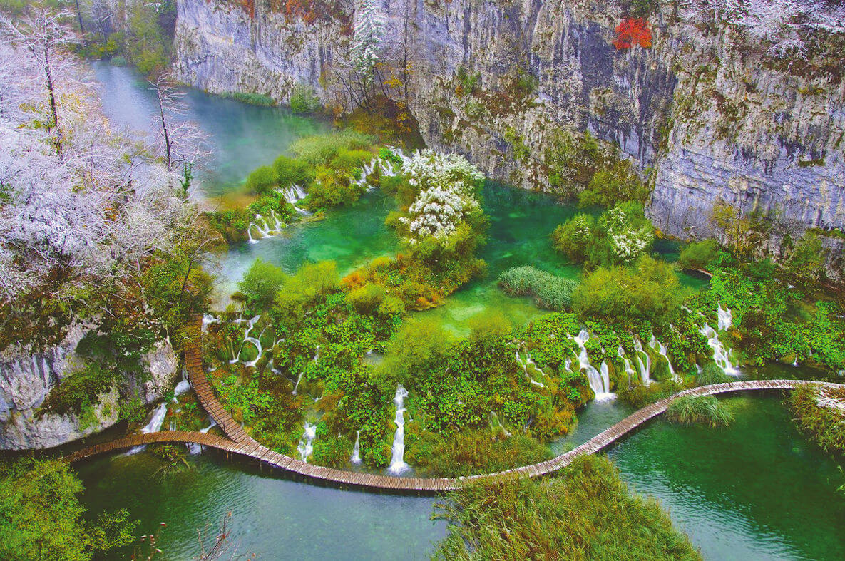 top travel experiences, plitvice lakes national park, croatia
