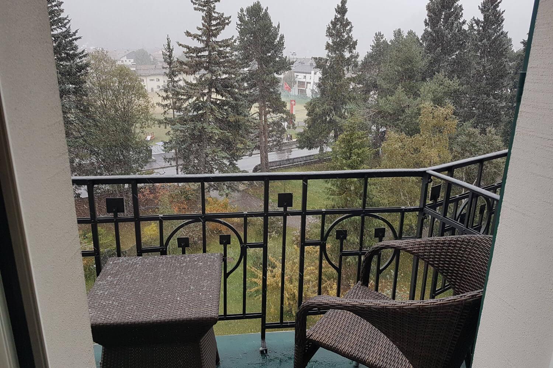 snow in Graubunden