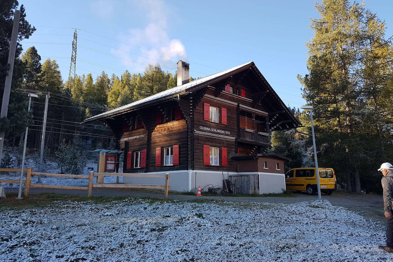 celerina train station
