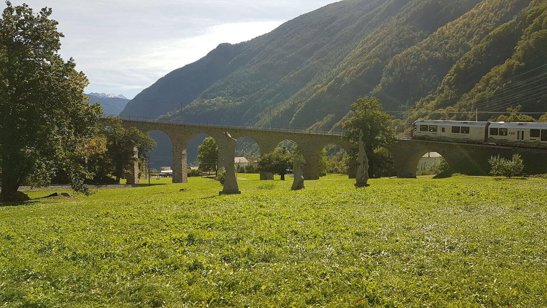 Brusio circular viaduct, switzerland