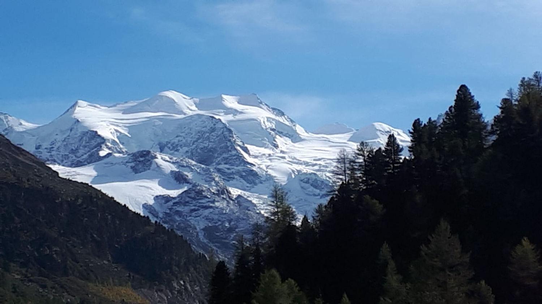 roseg Glacier, switzerland