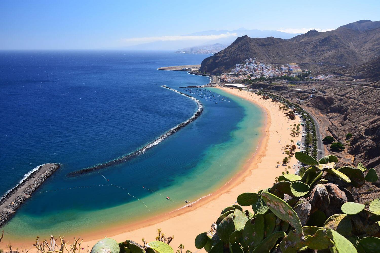 playa de la teresitas, tenerife beaches