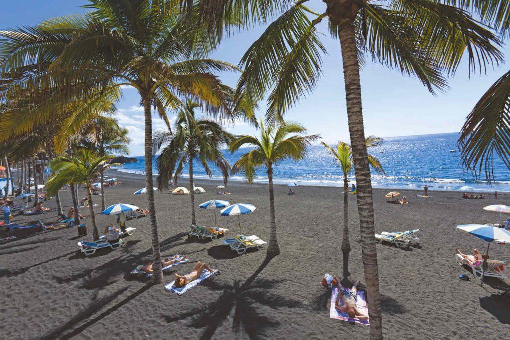 puerto naos, la palma beaches
