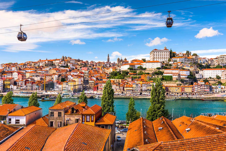 Porto's historic center