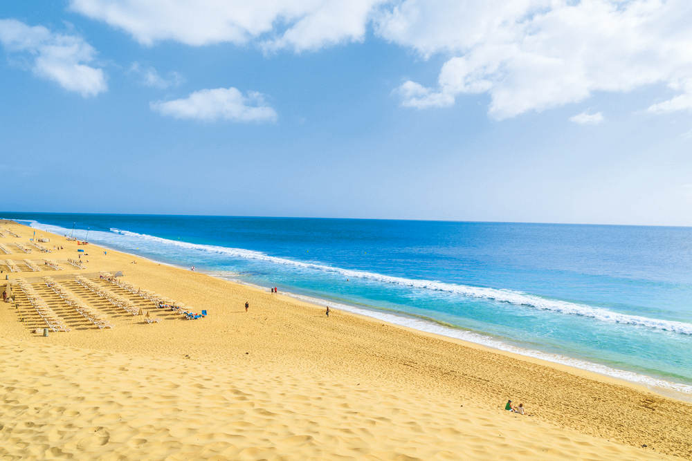 which canary island has the best weather