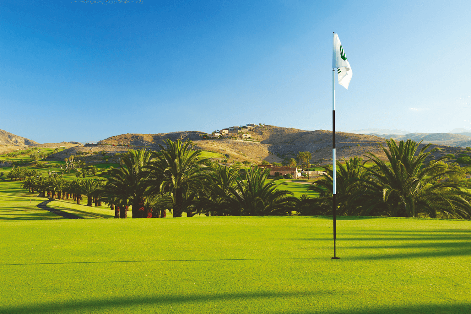 Golf course on Gran Canaria