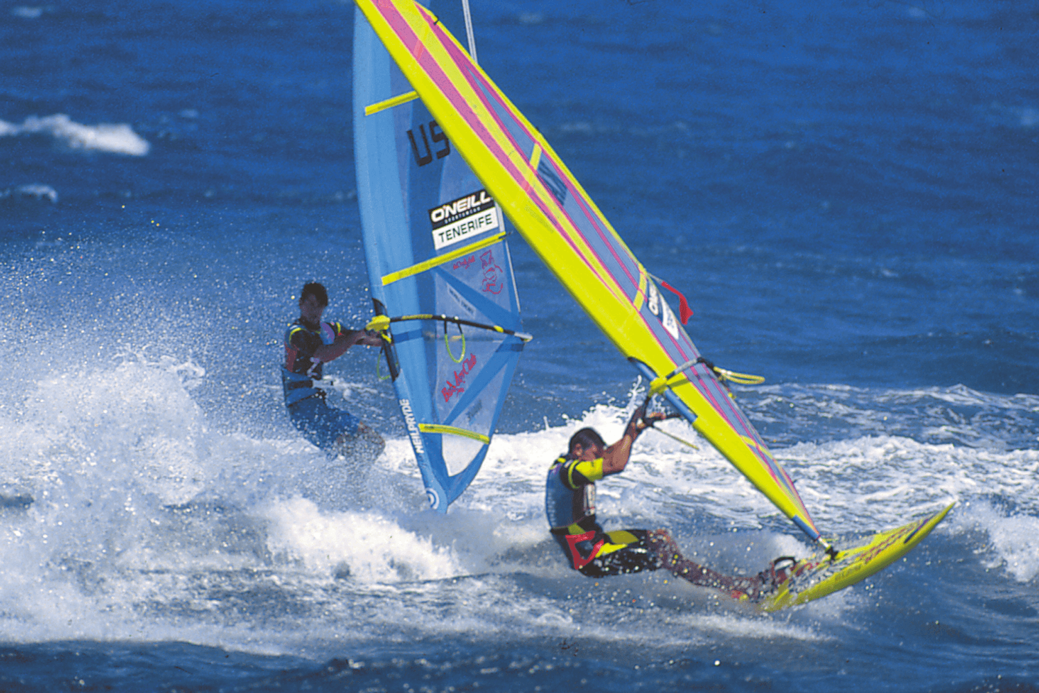 Wind surfing, water sports