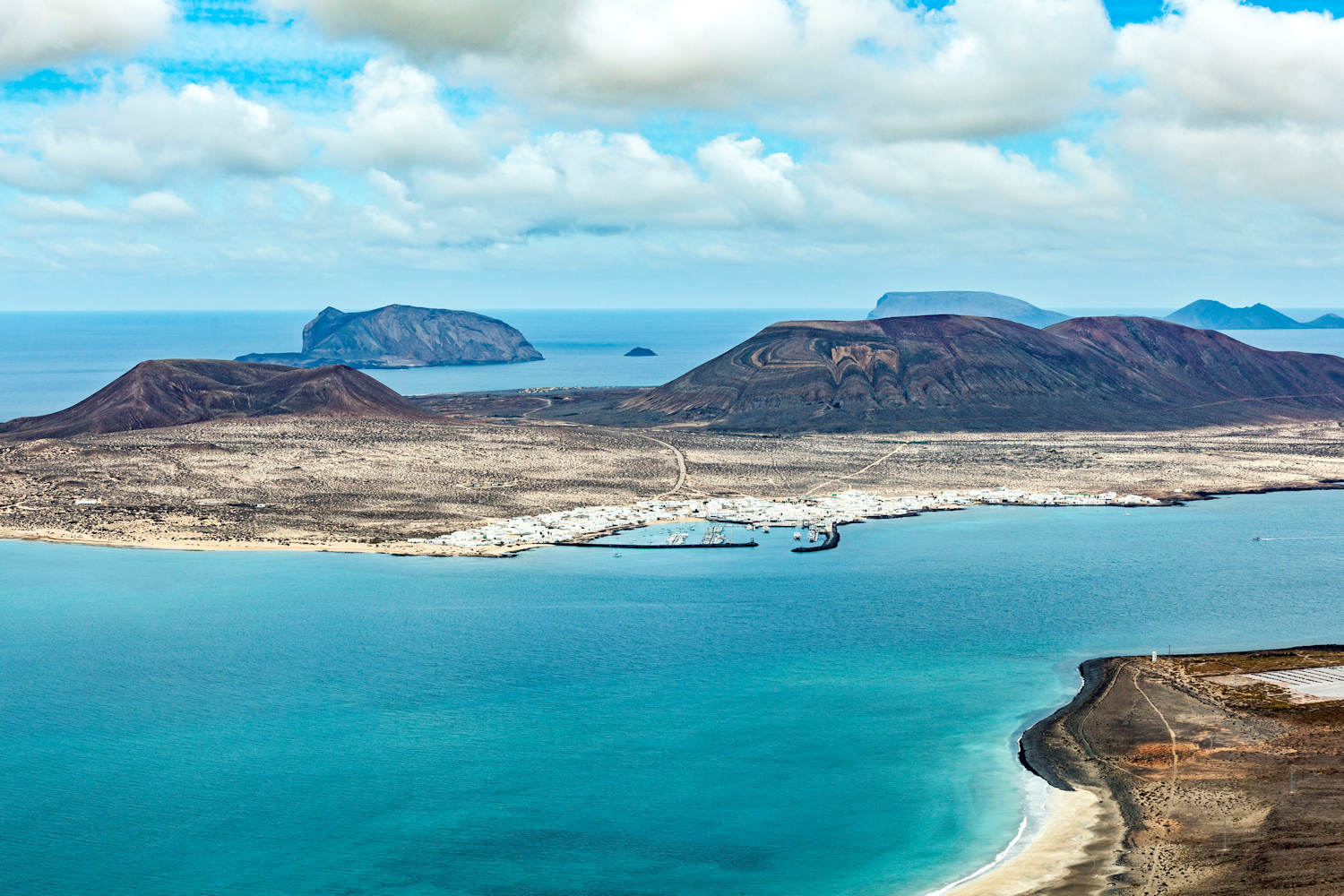 View of La Graciosa