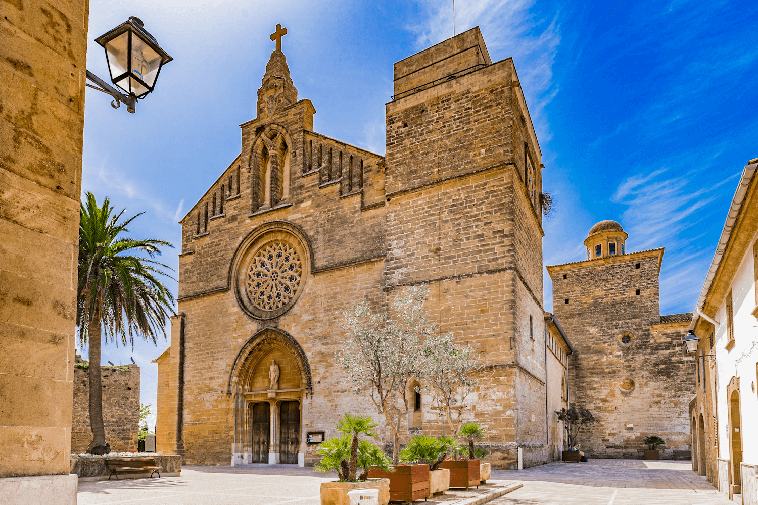 Church of Sant Jaume in Alcudia Old Town