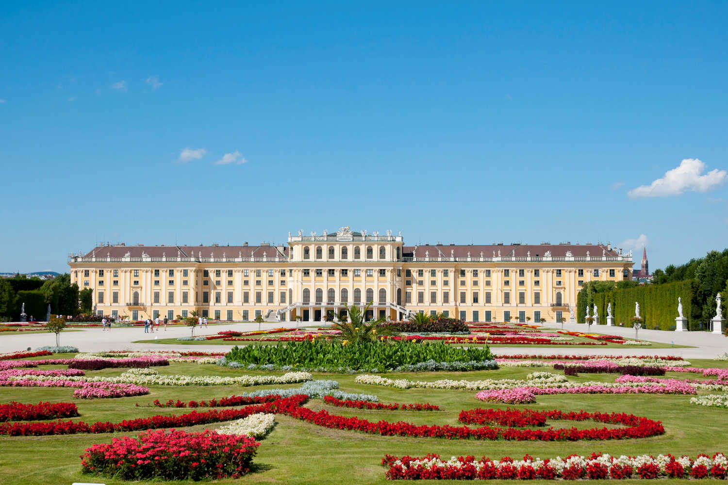 External view of Schonbrunn Palace