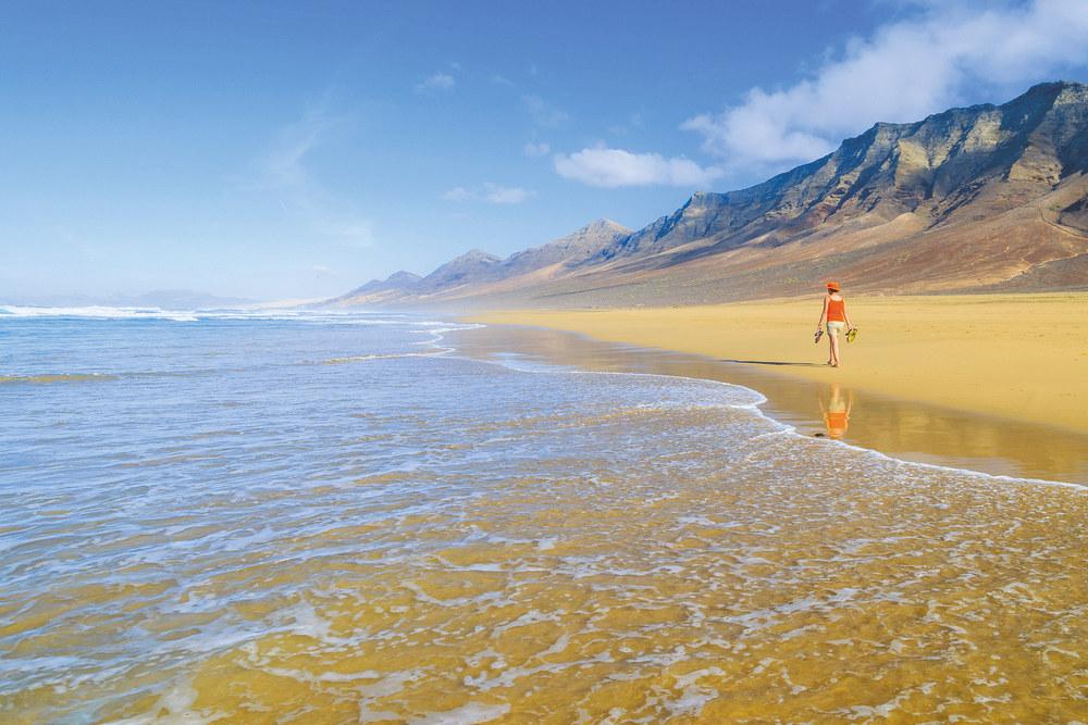 fuerteventura, cofete beach
