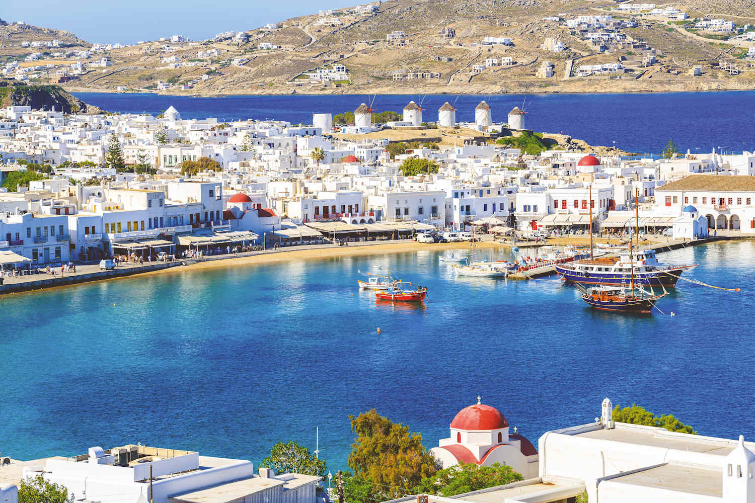 things to do in mykonos, mykonos town