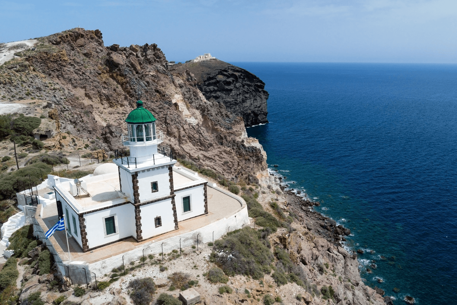 Santorini, Akrotiri lighthouse