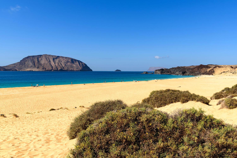 Playa de las Conchas beach