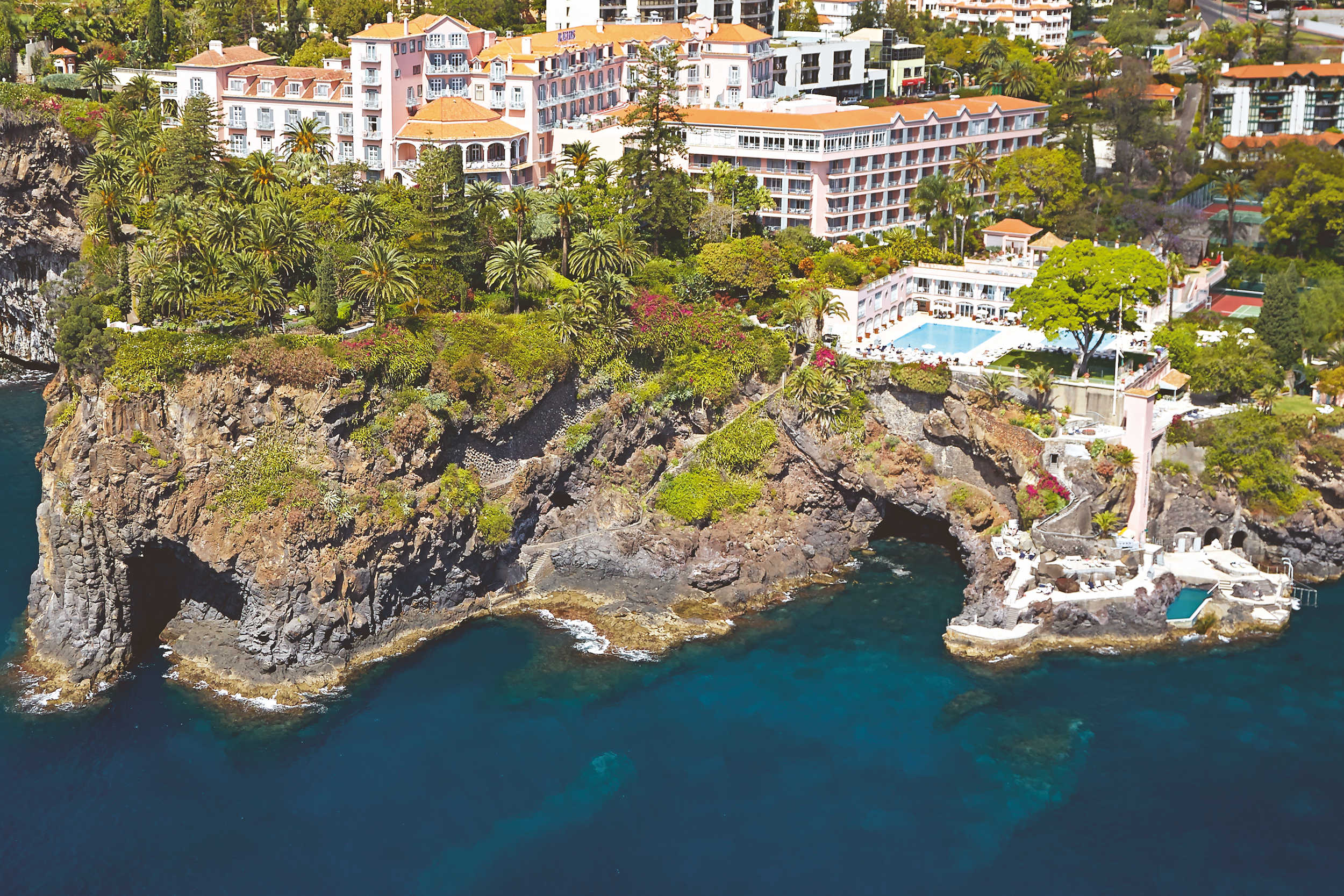 Madeira Reids Palace, Cliff Top Setting