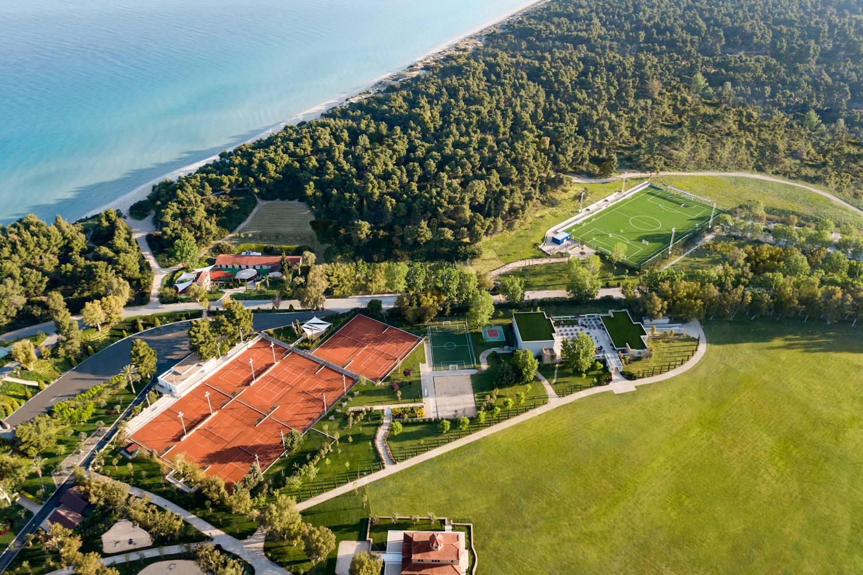 Rafa Nadal Tennis Centre, aerial view