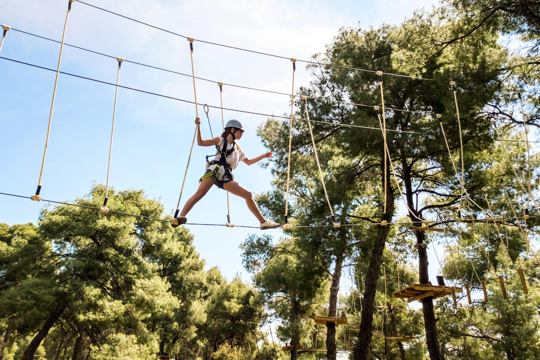 Sani Adventure Park, challenging experiences