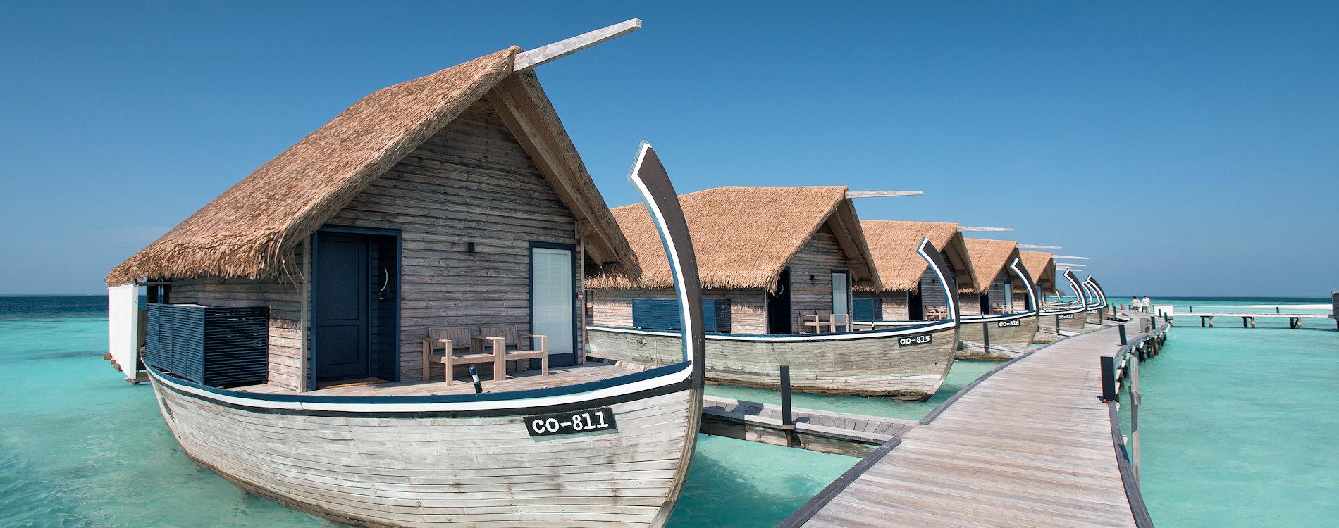 COMO Cocoa Island, Dhoni Water Villa Exterior