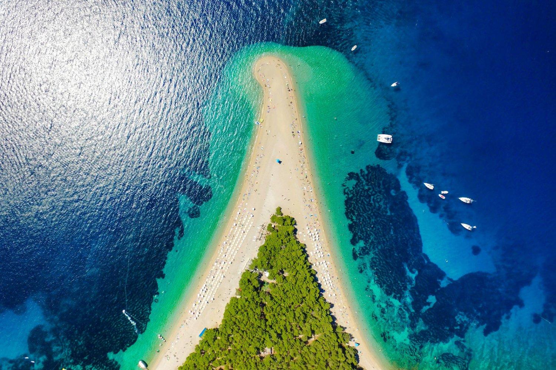 Zlatni Rat, Beach in Croatia