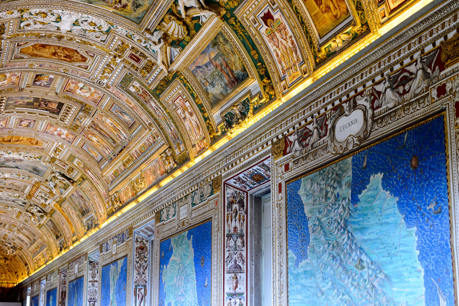 Gallery of Maps, Vatican Museum