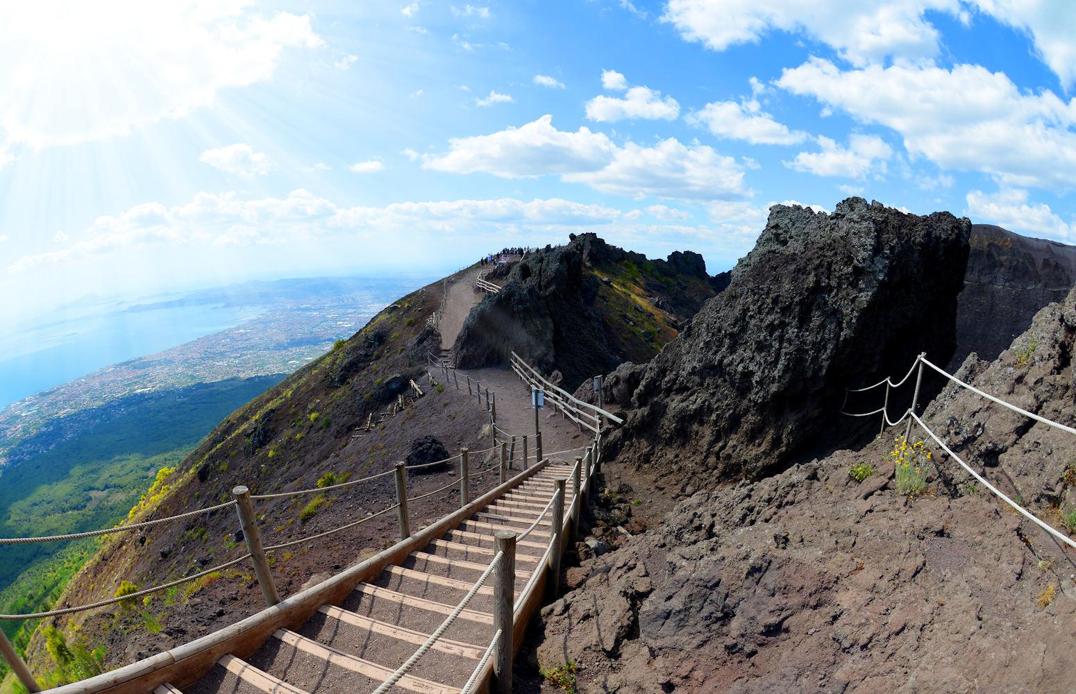 Walking Mount Vesuvius