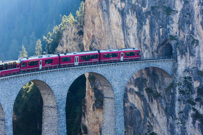 Bernina Express bridge