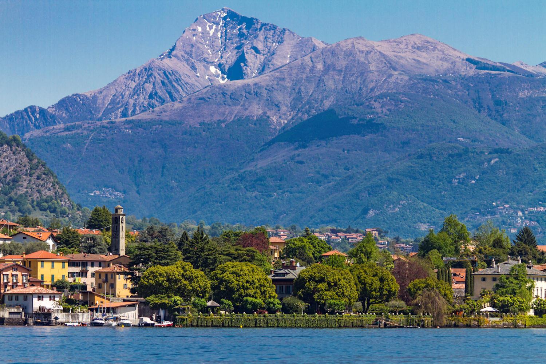Isola Comacina at Como Lake