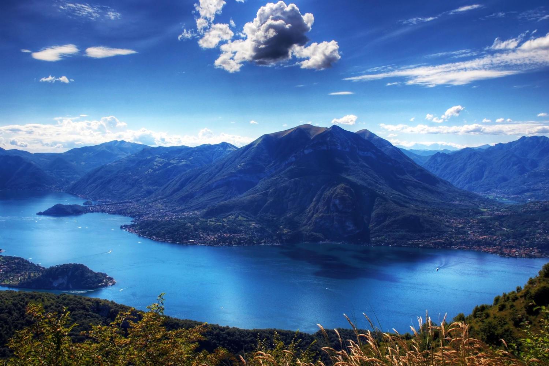 Lake Como & Lugano landscape