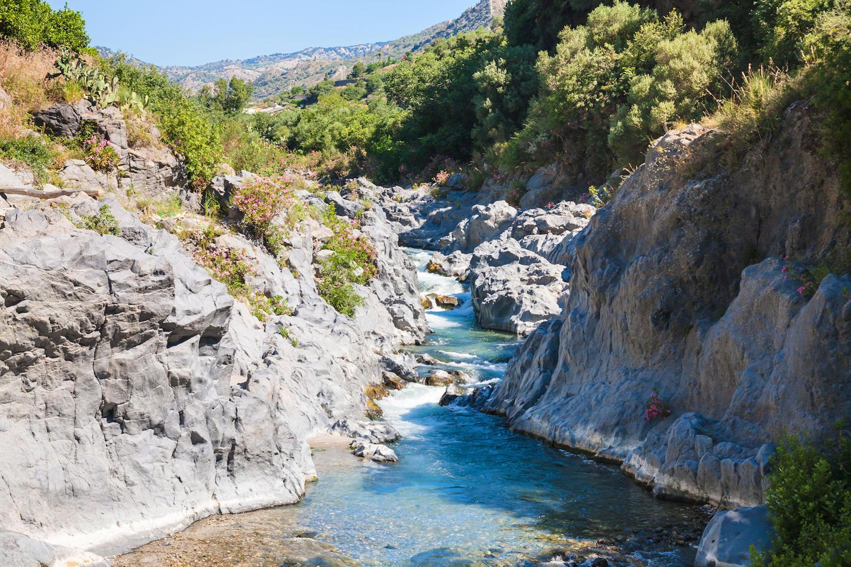 Alcantara Gorge, Sicily