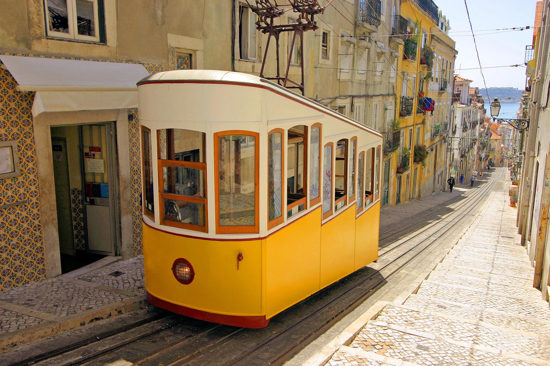 Vintage Tram, Lisbon