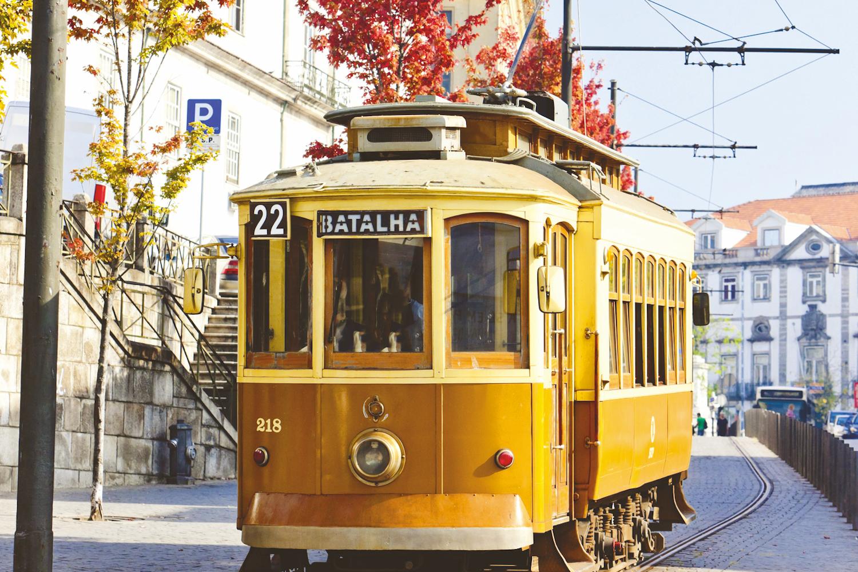 Vintage Tram, Porto
