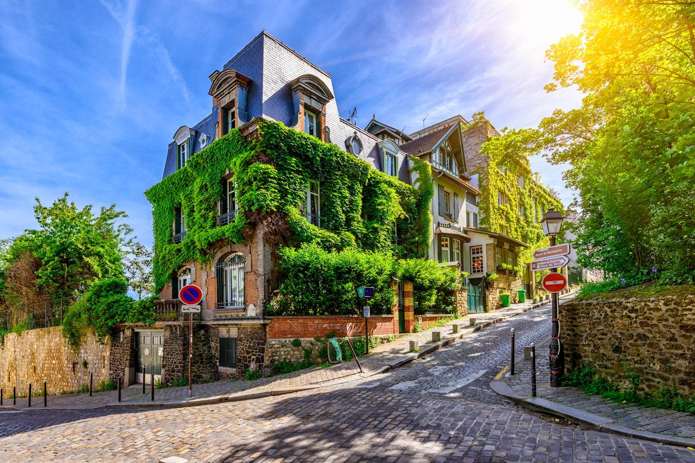 Old Montmartre, Paris