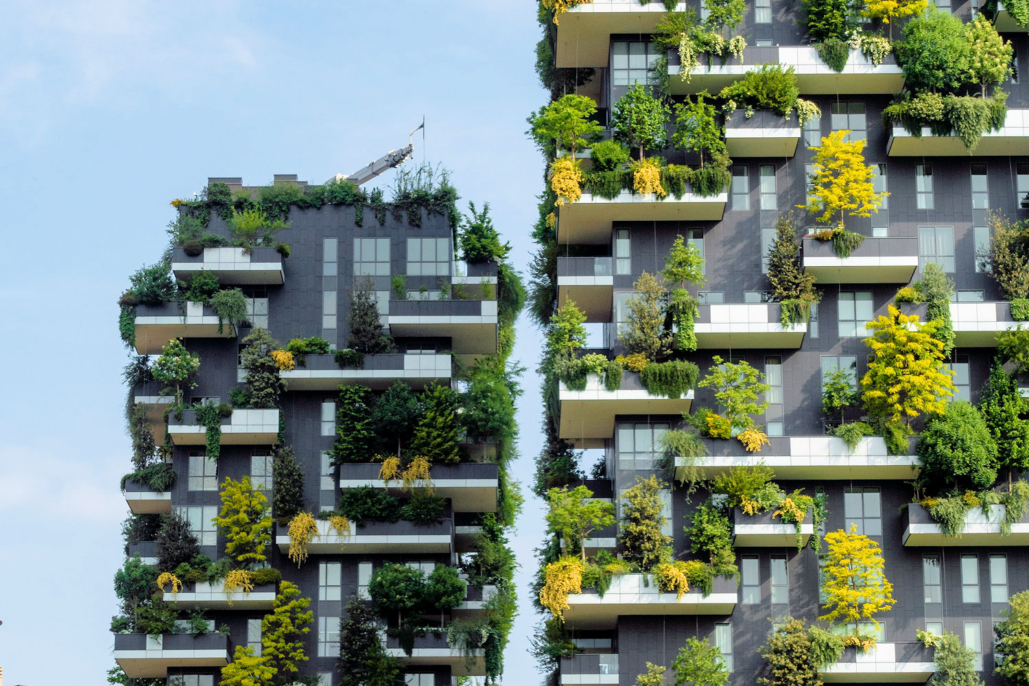 Bosco Verticale, The Vertical Forest, Milan