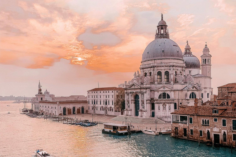 The Santa Maria della Salute, Venice