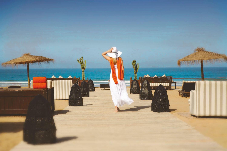 Beach at Sofitel Agadir Royal Bay Resort